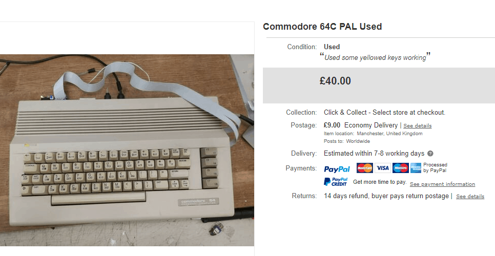 How Much is a Commodore 64 Worth today
