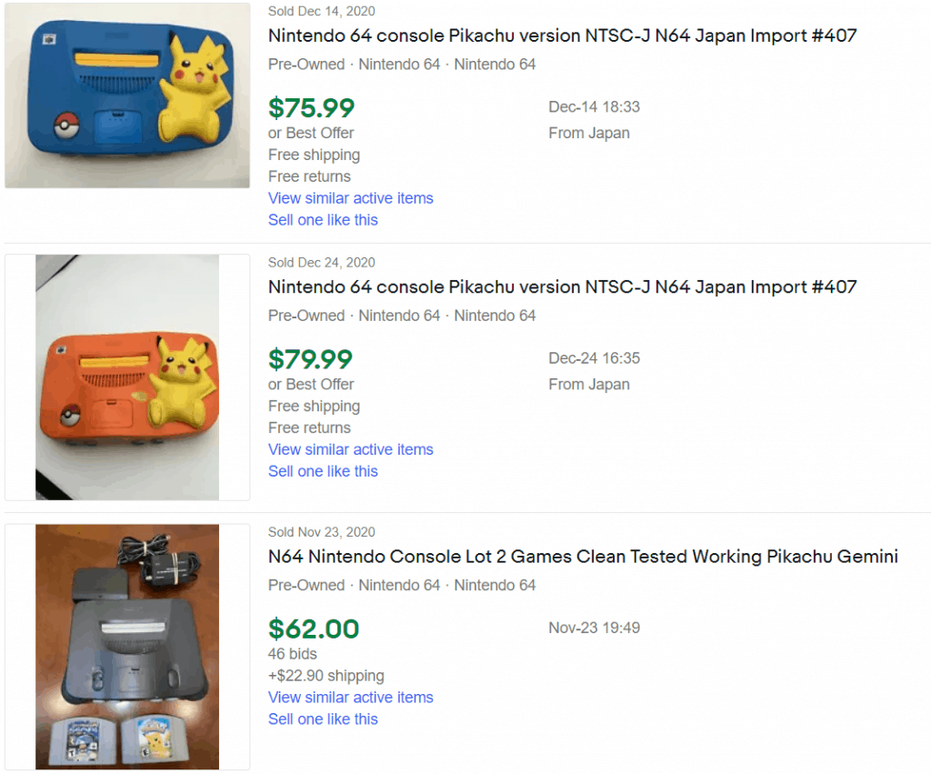 How Much is a Nintendo 64 Worth
